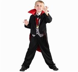 Strój Mały wampir (peleryna, kamizelka, medalion) 130/140 87648/130 GoD hallow