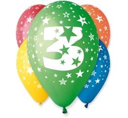 Balon   3   5szt. GoD
