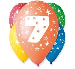 Balon   7   5szt. GoD