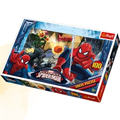 TREFL Puzzle 100 Ucieczka Spiderman16259
