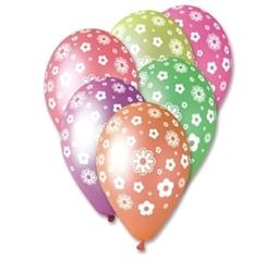 Balony Premium Kwiatuszki 12   GoD