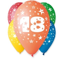 Balon 12   z nadr. 18, pastel mix GoD
