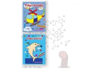 KSIAZECZKA POLACZ KSZTALTY 2 WZORY MIX ISBN978-955-669-295-2,296-9