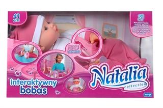 PROM Kol. Natalia lalka mimiczna X-NA-LF0044AR