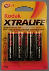 Bateria xtralife alk. LR6 Folia kpl 4szt