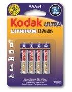 Bateria K3A-4 Ultra Lithium AAA Kodak