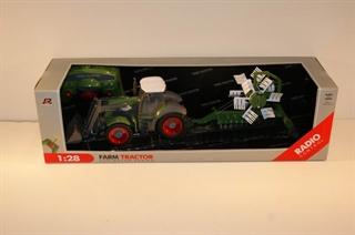 PROM Traktor z przyczepą R/C ład MAD
