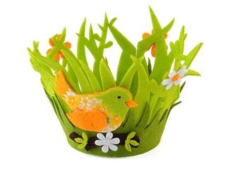 Koszyczek filcowy Wielkanocny osłonka AD