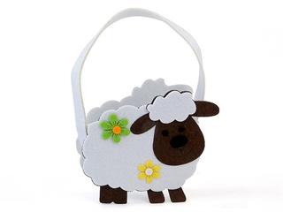 Torebeczka filcowa - owieczka AD
