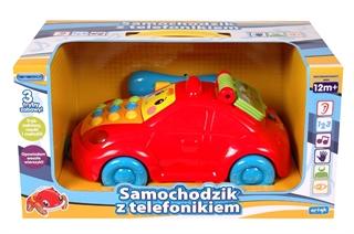 Autko-telefon z polskim IC X-ED-PK0036 AR