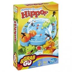 PROM Gra Hungry Hippos Grab  amp; Go B1001HASBRO