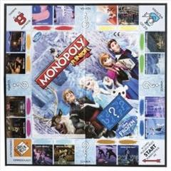 PROM Monopoly Junior Disney Frozen B2247