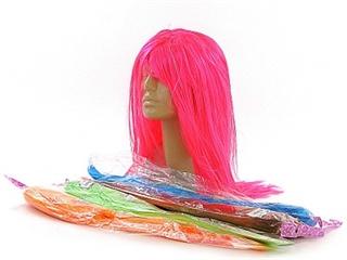 Peruka mix kolorów, długie włosy AD