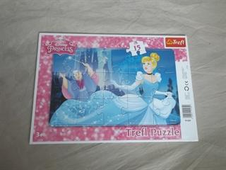 S.CENA Trefl 91439_Puzzle ramkowe 15 el.PRINCESS