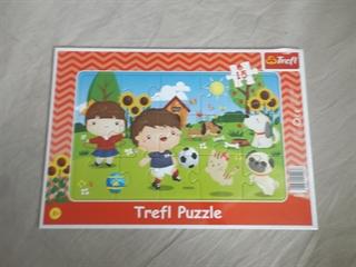 S.CENA Trefl 91443_Puzzle ramkowe 15 el.PUPILE