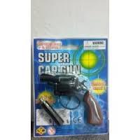 -Pistolet metalowy na spłonkę srebrny S902BN PIS
