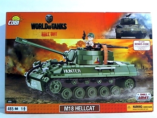 *SMALL ARMY /3006/ WOT M18 HELLCAT 465 KL.
