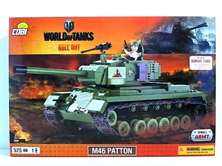 *SMALL ARMY /3008/ WOT M46 PATTON 525 KL.