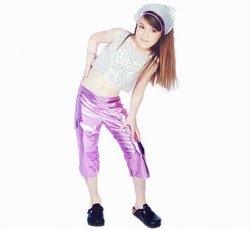 PROM Strój  Barbie disco  ,lawendowy,116cm/torba-wieszak GoD