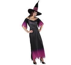 Strój dla dorosłych  Czarownica z kapeluszem  (sukienka,kapelusz),roz.38 GoD hallow