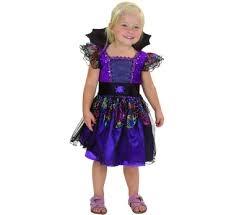 Strój dla dzieci  Pajęcza wiedźma  (sukienka z kołnierzem i pasem),roz.92/104cm GoD hallow