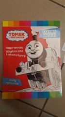 Tomek i przyjaciele. Mały rysownik z naklejkami