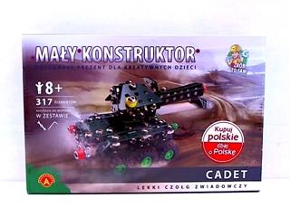 -MAŁY KONSTRUKTOR MILITARIA - CADET ALEX