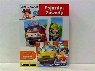 -CLE puzzle Pojazdy i zawody Brum Brum 60920