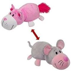*Flipazoo Różowy kot-Mysz FLP1036
