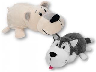 *Flipazoo Husky-Niedźwiedź polarny FLP1042
