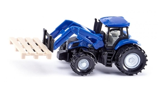 PROM S1487   Siku 14   - Traktor z chwytakiemdo palet