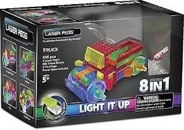 PROM LASER PEGS 8w1 klocki truck świecącePB1430B