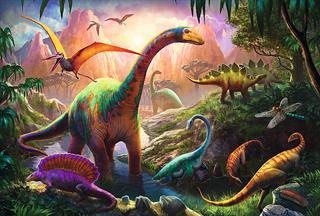 S.CENA 16277   100 - Świat dinozaurów   / Tr