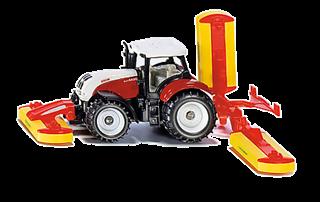 S.CENA S1672   Siku 16   Traktor Steyr z kos