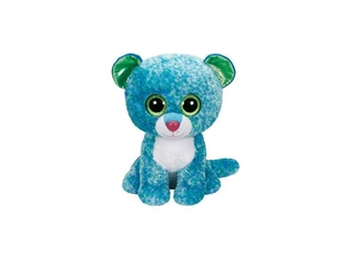 *Beanie Boos LEONA - blue leopard medium