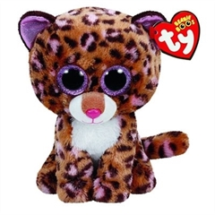 *Maskotka Beanie Boos PATCHES - leopard tan