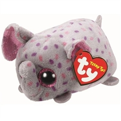 *Teeny Tys TRUNKS -pink/gray elephant