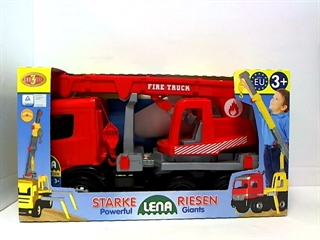 -Dźwig LENA Fire Truck Mercedes w kartonie 02175 NOR
