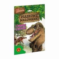 -PIASKOWE MALOWANKI - ERA DINOZAURÓW