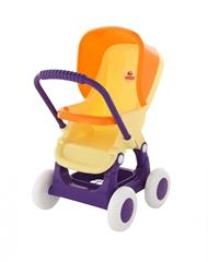 Wózek do lalek spacerowa 4- kołowa (w woreczku)