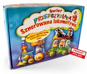 Gra Lokomotywa sznurowa-Świat przedszkolaka