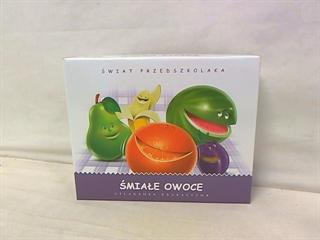 Śmiałe owoce-układanka