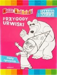 Masza i Niedźwiedź. Przygody urwiski. Mały rysowni