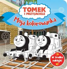 Tomek i przyjaciele. Moja kolorowanka
