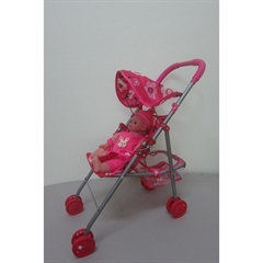 Wózek spacerowy z lalką P-421-00 PIS