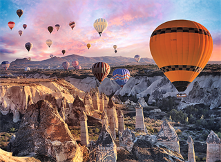Puzzle -   3000   Balony nad Kapadocją