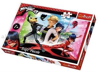 Puzzle   200   - Marinette i Adrien / ZAG America Miraculous
