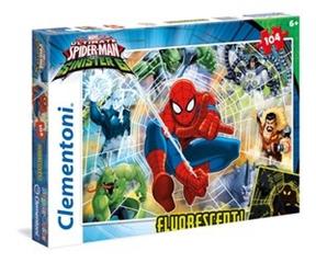 -CLE puzzle 104 Fluorescent Spiderman 27992