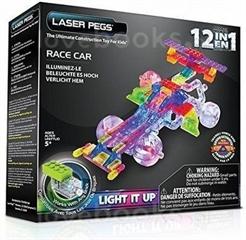 PROM LASER PEGS 12 IN 1 RACE CAR G870B