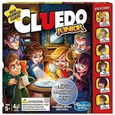 PROM Gra Cluedo Junior C1293 HASBRO